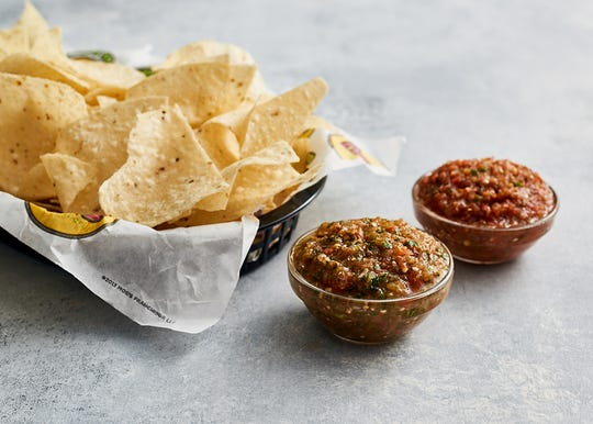 All meals at Moe's Southwest Grill come with free chips and salsa.