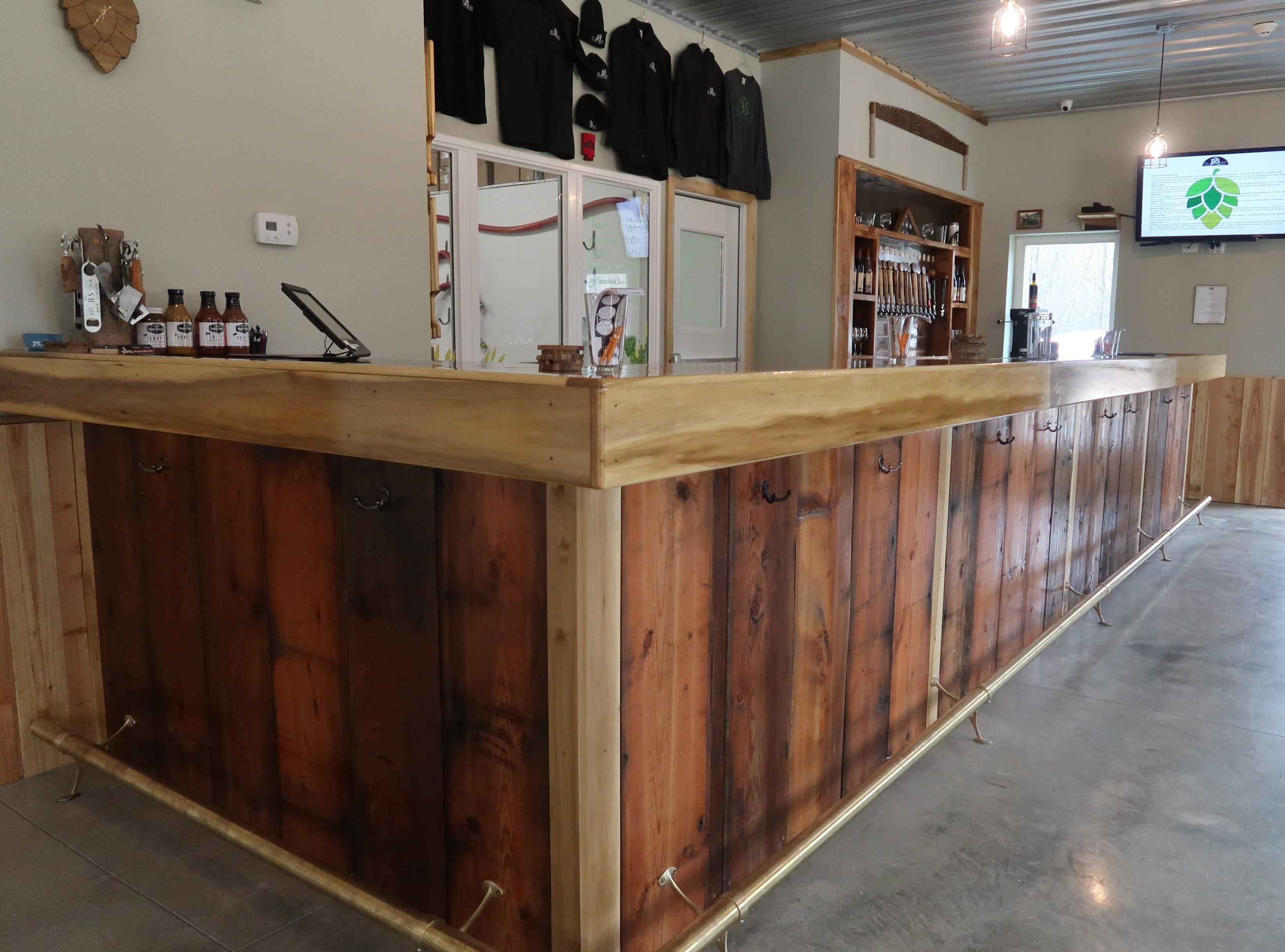No BS Brew Company in Livonia.