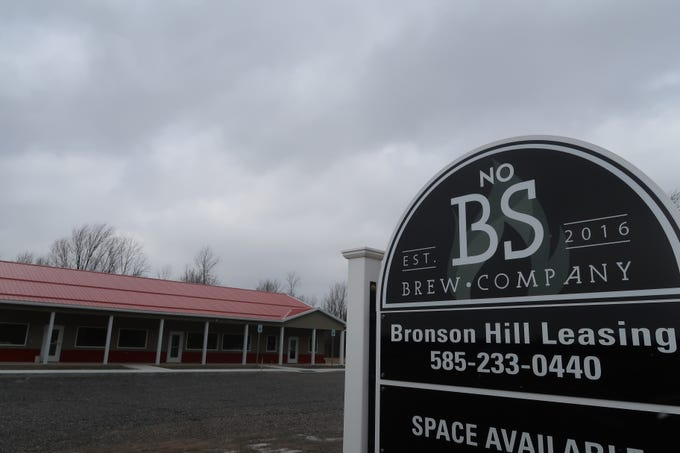 The new signage at No BS Brew Company in Livonia.