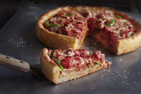 Uno Pizzeria and Pizzeria and Grill is known for its deep-dish pizzas.