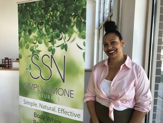 Simone Williams of Simply Simone Naturals