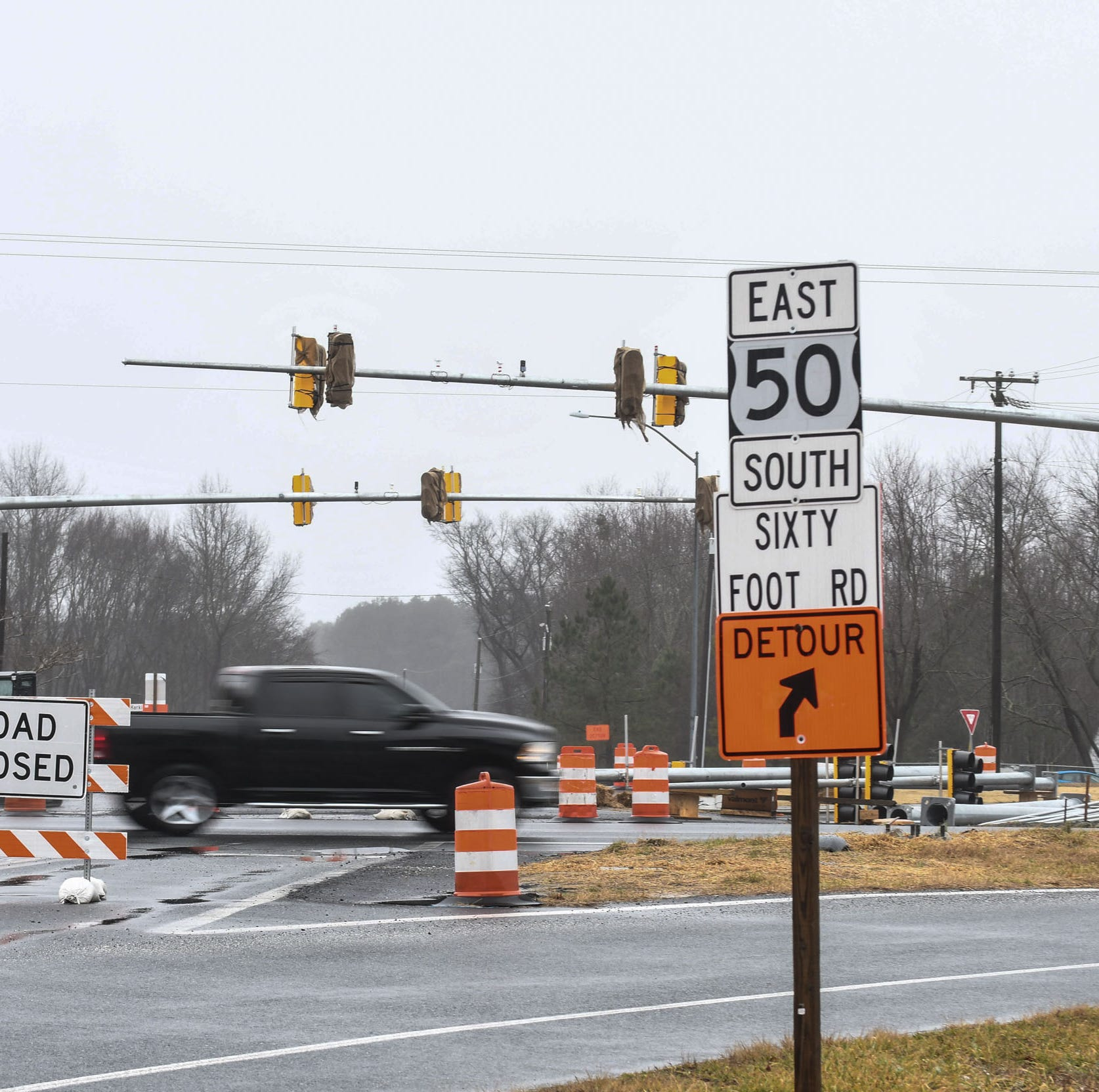 Sixty Foot Road construction to finish shortly