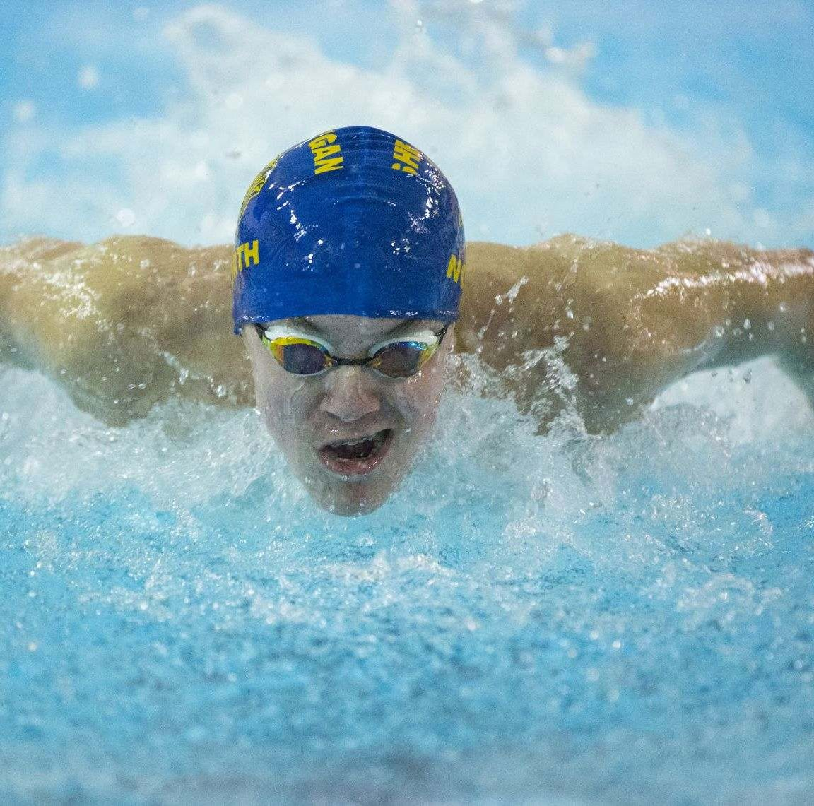 Sheboygan North's William Hayon wins state championship in 50-yard freestyle