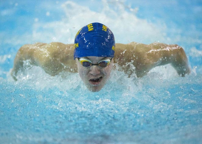 Sheboygan North freshman William Hayon has broken five individual and two relay records this season. He'll look to add a state title or two Saturday.