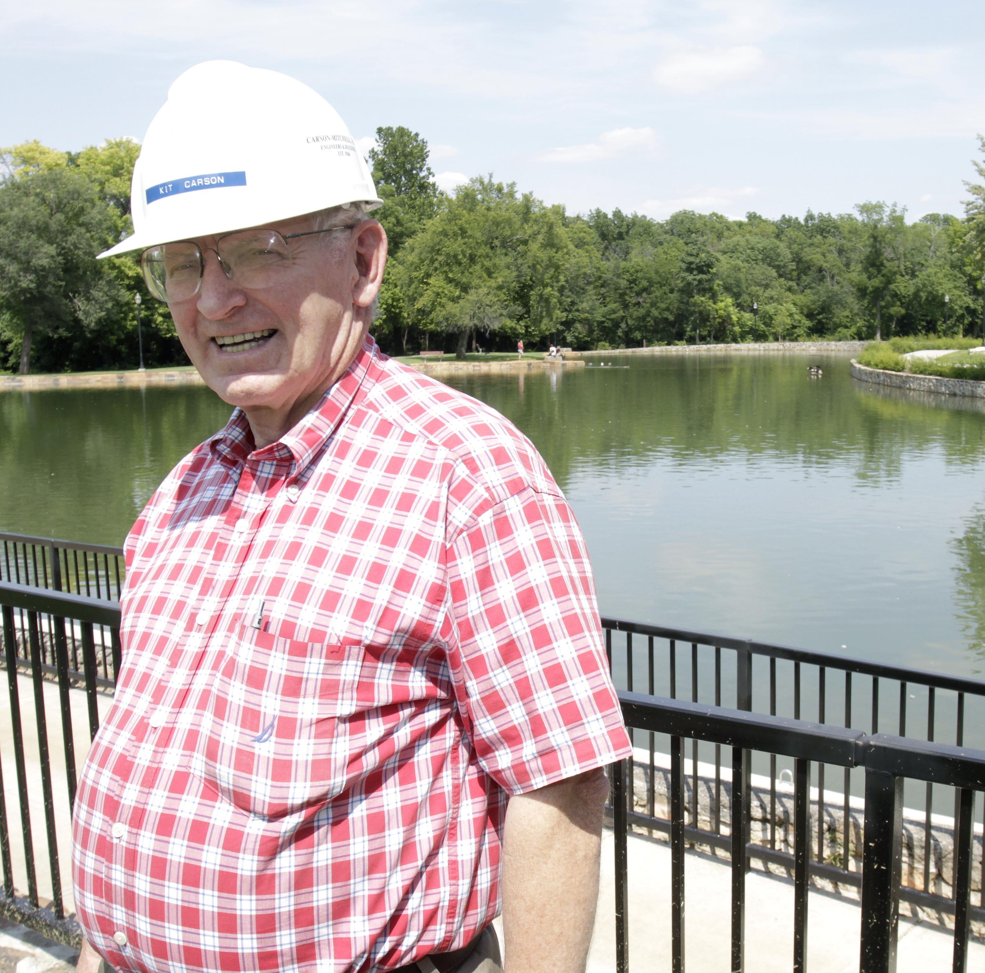 Beloved storyteller and Springfield businessman Kit Carson died Monday