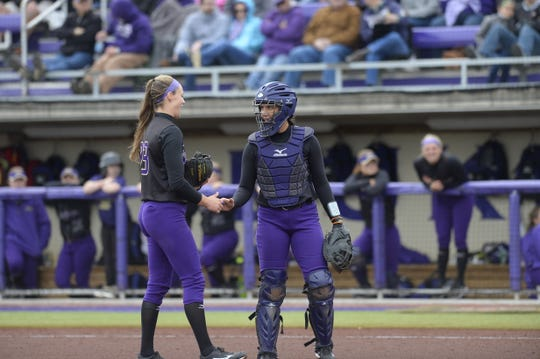 JMU's Megan Good prepares for final regular-season series at home this weekend.