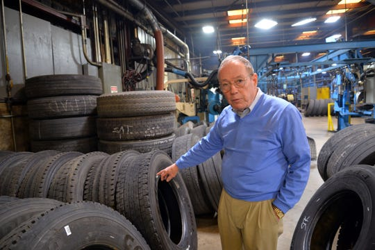 Central Tire in Verona will be switching ownership Feb. 18, 2019. The tire company has been around for 74 years, owned by the Westhafer family. Brothers Terry (pictured here) and Tommy Westhafer made the decision last fall to sell the company to the Rice Tire Co. out of Frederick, Maryland.