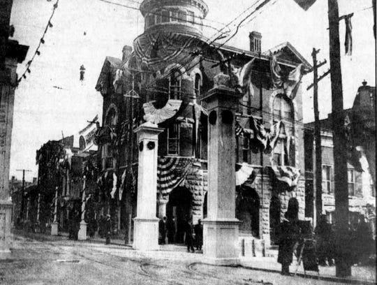 The Marquis building circa 1912.