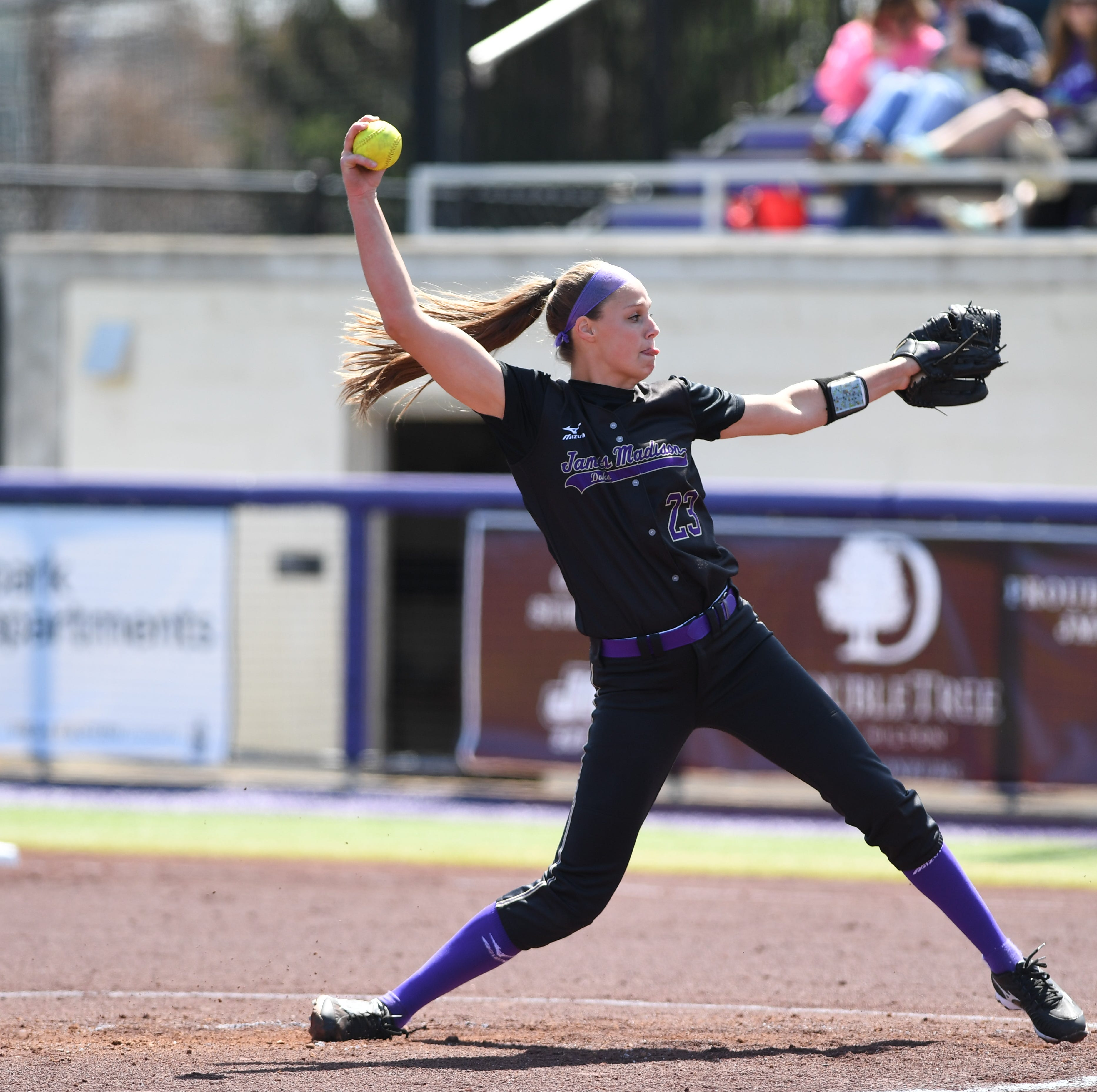 Megan Good, JMU softball headed to Los Angeles