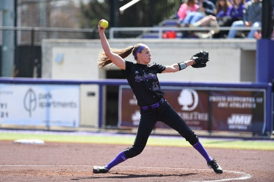 Former Fort Defiance standout Megan Good returns to JMU softball's lineup this season after missing last year with a knee injury.