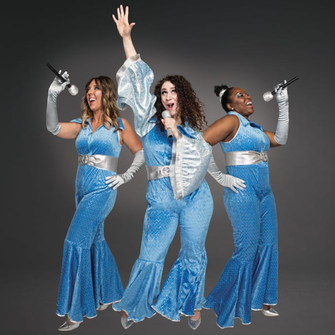 """A promotional image for GREAT Theatre's 2019-20 season, which includes """"Mamma Mia!,"""" a jukebox musical featuring the music of ABBA."""