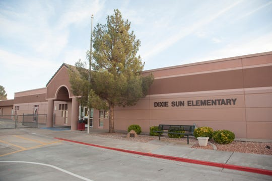 Dixie Sun Elementary Tuesday, Feb. 12, 2019.