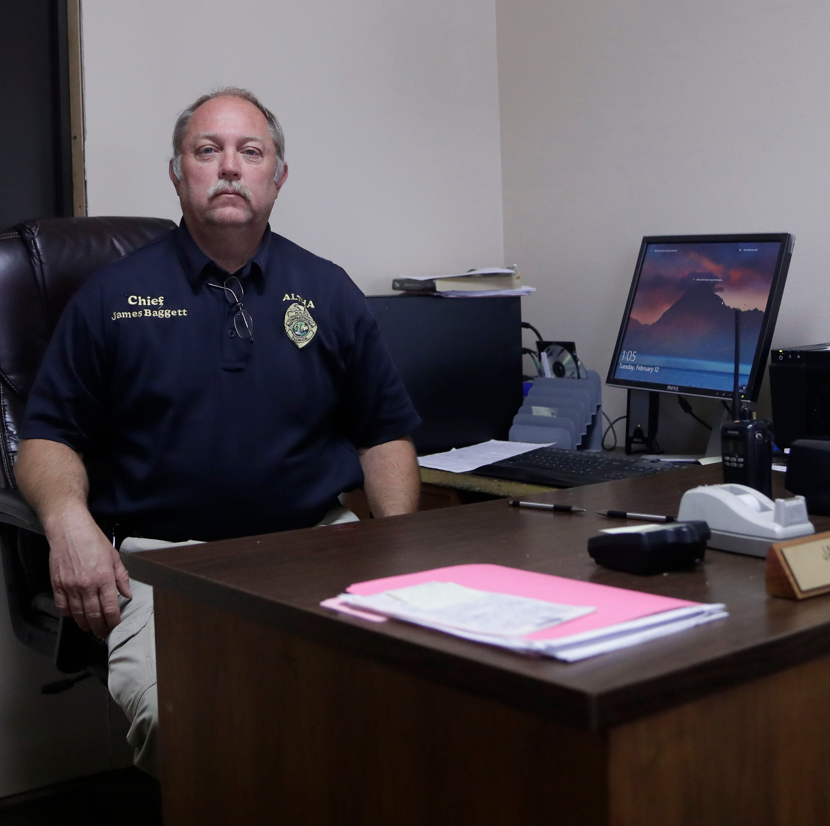 Crossing guard, garbage man, Mr. Fix-it: Altha police chief does it all after Hurricane Michael