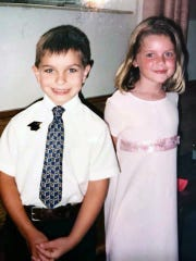 Kyle and Kathryn Frost as children