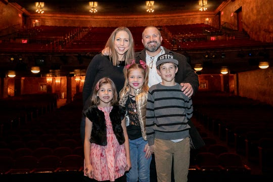 The Vorkapich family enjoyed a whirlwind trip to New York City on behalf of the Make-A-Wish Foundation.