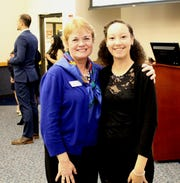 Boys & Girls Clubs of Indian River County Executive Director Elizabeth Thomason, left, with 2019 Youth of the Year Maleah Rada.