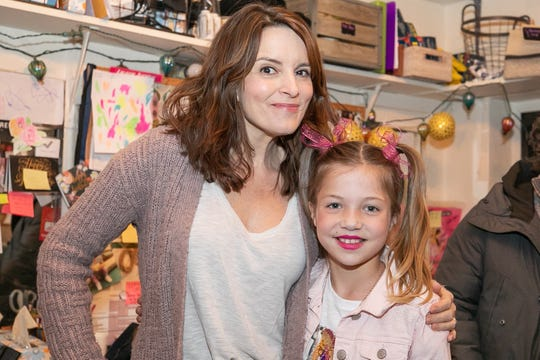 Tina Fey, who wrote 'Mean Girls' for the stage, spent time with Palmer behind the scene.