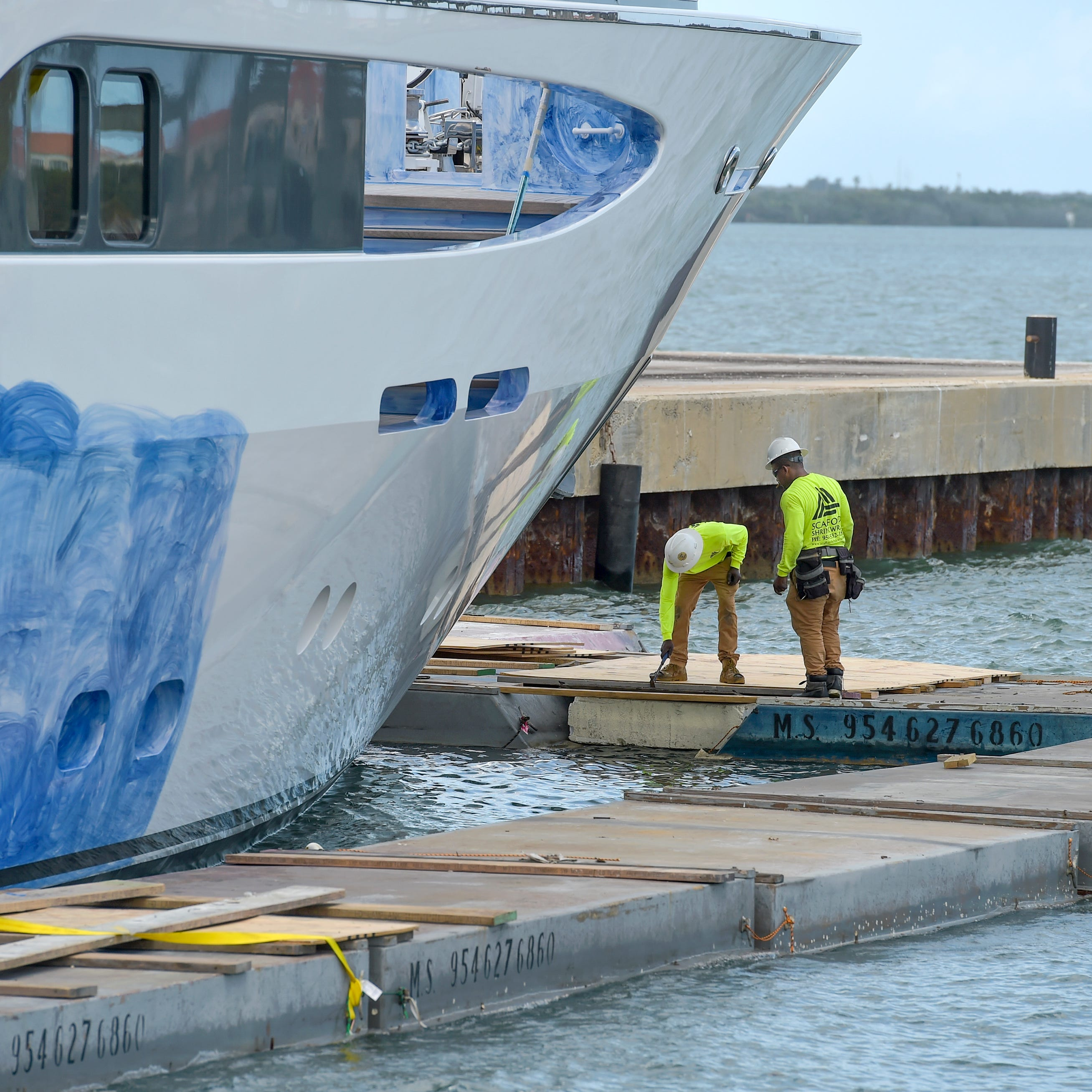 Port of Fort Pierce already is becoming a mega-yacht repair destination