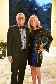 Dr. and Mrs. Savage at the 2019 John Carroll High School Gala at The Promenade on the River in Port St. Lucie. Dr. Savage's practice, Nite Lite Pediatrics, was the Entertainment Sponsor for the evening.