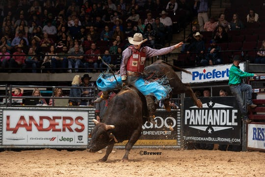 Bull rider Roscoe Jarboe will compete at the Tuff Hedeman bull riding event Saturday.