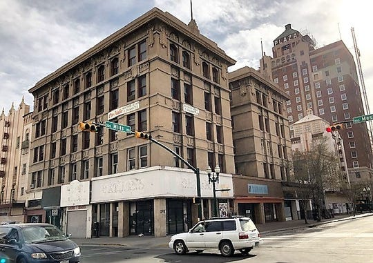 The Roberts-Banner Building, at 215 N. Mesa St., in Downtown El Paso, is slated to become a 64-room, upscale boutique hotel.