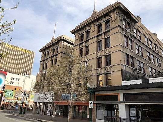 The Roberts-Banning Building in Downtown El Paso is slated to become a 64-room,  upscale boutique hotel.