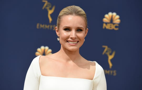 Kristen Bell arrives at the 70th Primetime Emmy Awards on Monday, Sept. 17, 2018.
