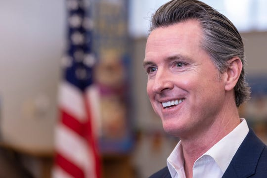 California Governor Gavin Newsom made a surprise visit to Riverview Elementary School in Parlier, Calif. on Wednesday, February 13, 2019 to sign his first bills as Governor. The bills provide urgent assistance for communities that have contaminated and unsafe water and also support communities that have been rocked by California wildfires.