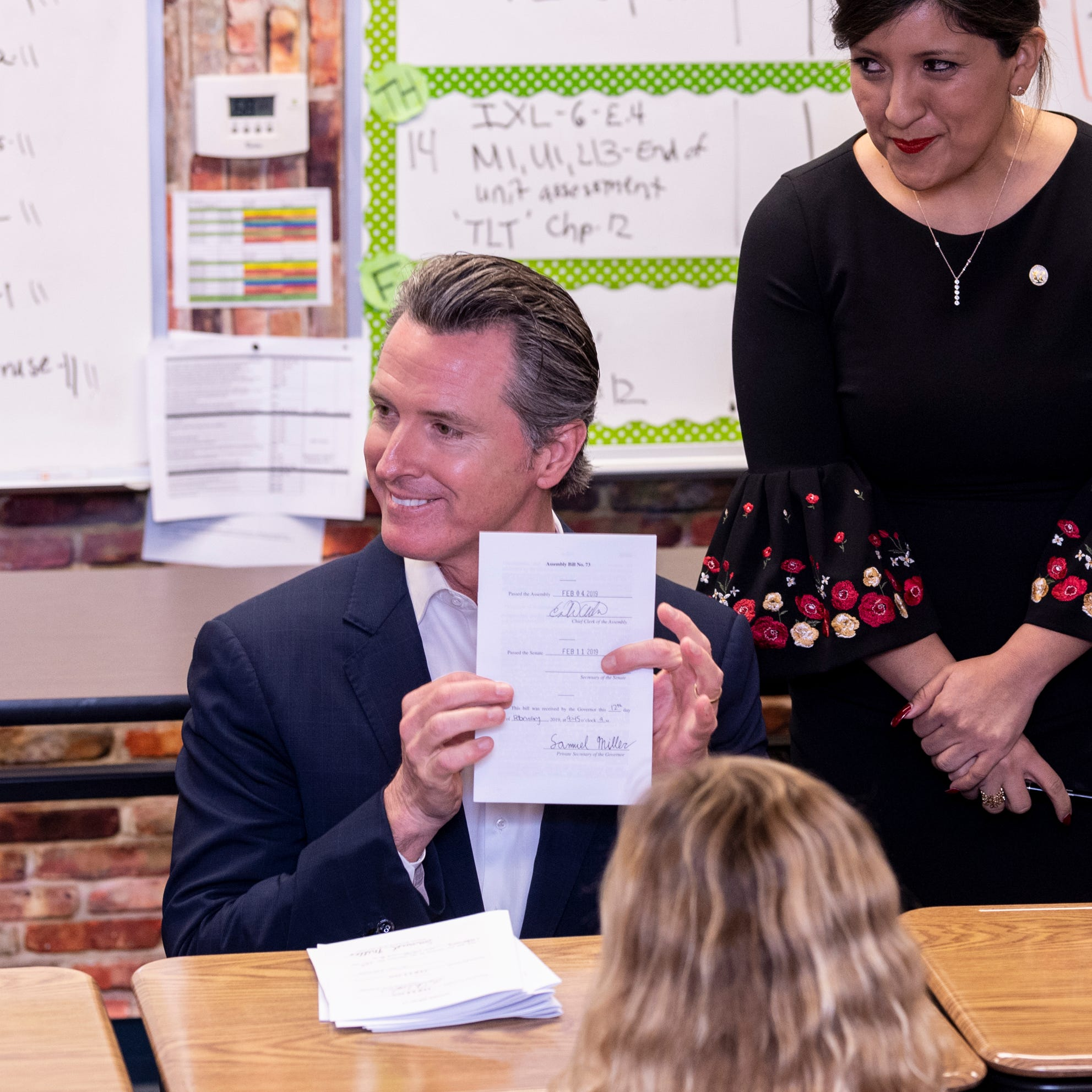 California Governor makes surprise visit to Central Valley. Here's what he had to say