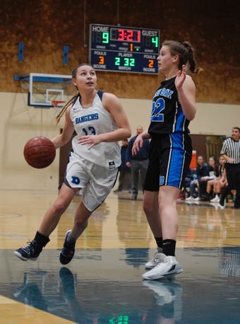 The Redwood High girls basketball team hosted Morro Bay on Feb. 12, 2019 in a Central Section Division II playoff game.