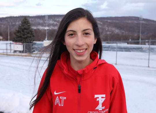 Tappan Zee runner Alexandra Thomas is our Rockland Scholar-Athlete Feb.13, 2019.