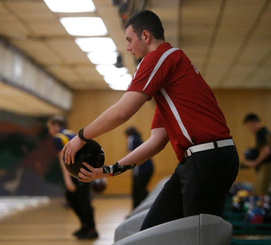 North Rockland junior Nick Varano led the section with a 237 average during the regular season.