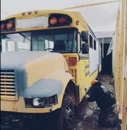 The Foodie Bus before its renovation.
