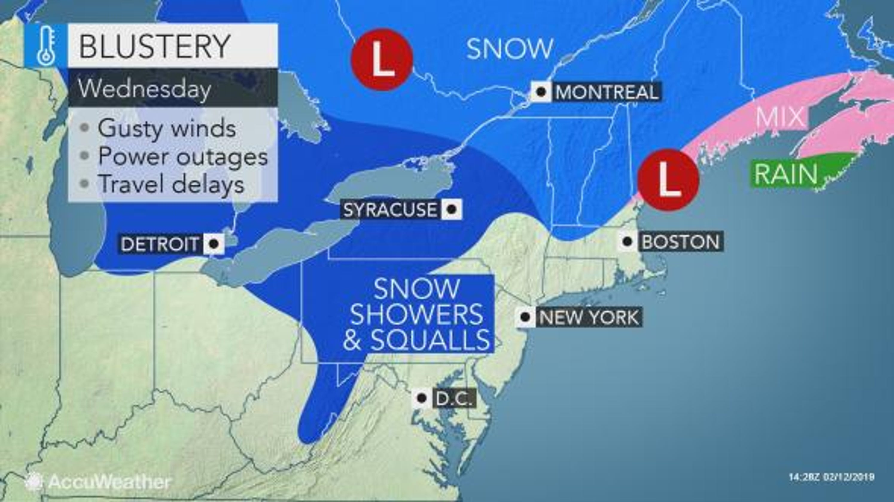 Weather: What to expect weather-wise for the rest of the week