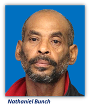 Nathaniel Bunch, 53, was arrested on in connection to a February shooting.