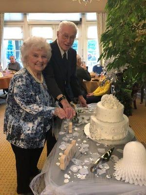 Jim and Nancy Klein-Sample met at their Five Star Senior Living apartment community.