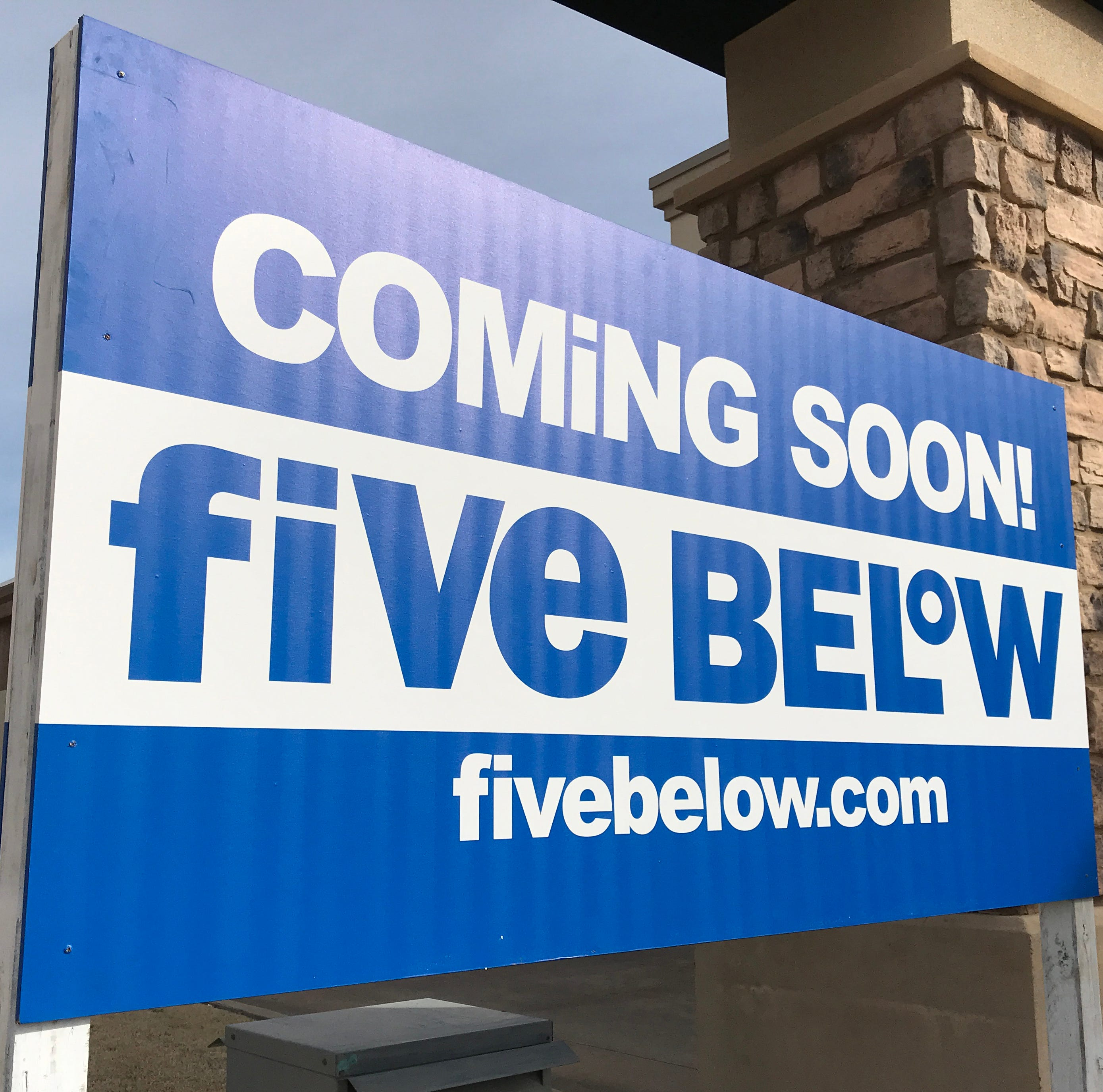 Five Below coming to Wichita Falls: When is the local location of the retailer opening?