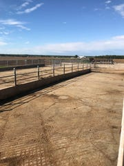 The cow yard that once held the Stodola family's milking herd and later custom-raised heifers is clean and quiet without the presence of animals.