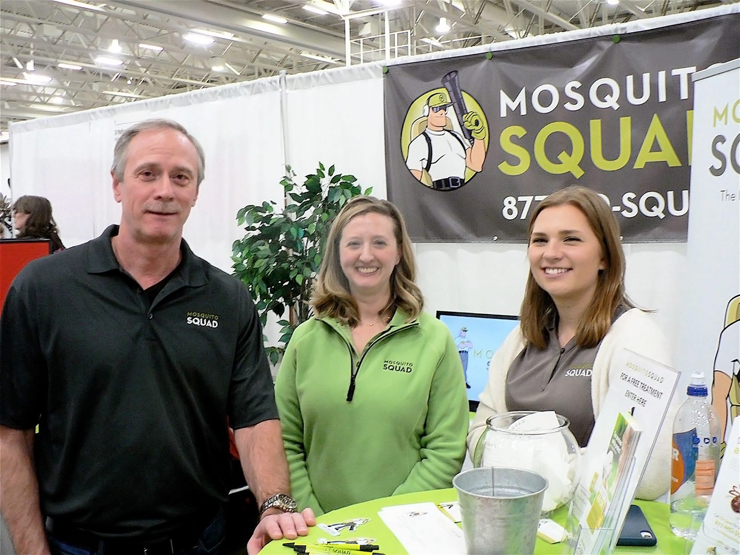 The Mosquito Squad, new to the Madison area but in six other state locations.