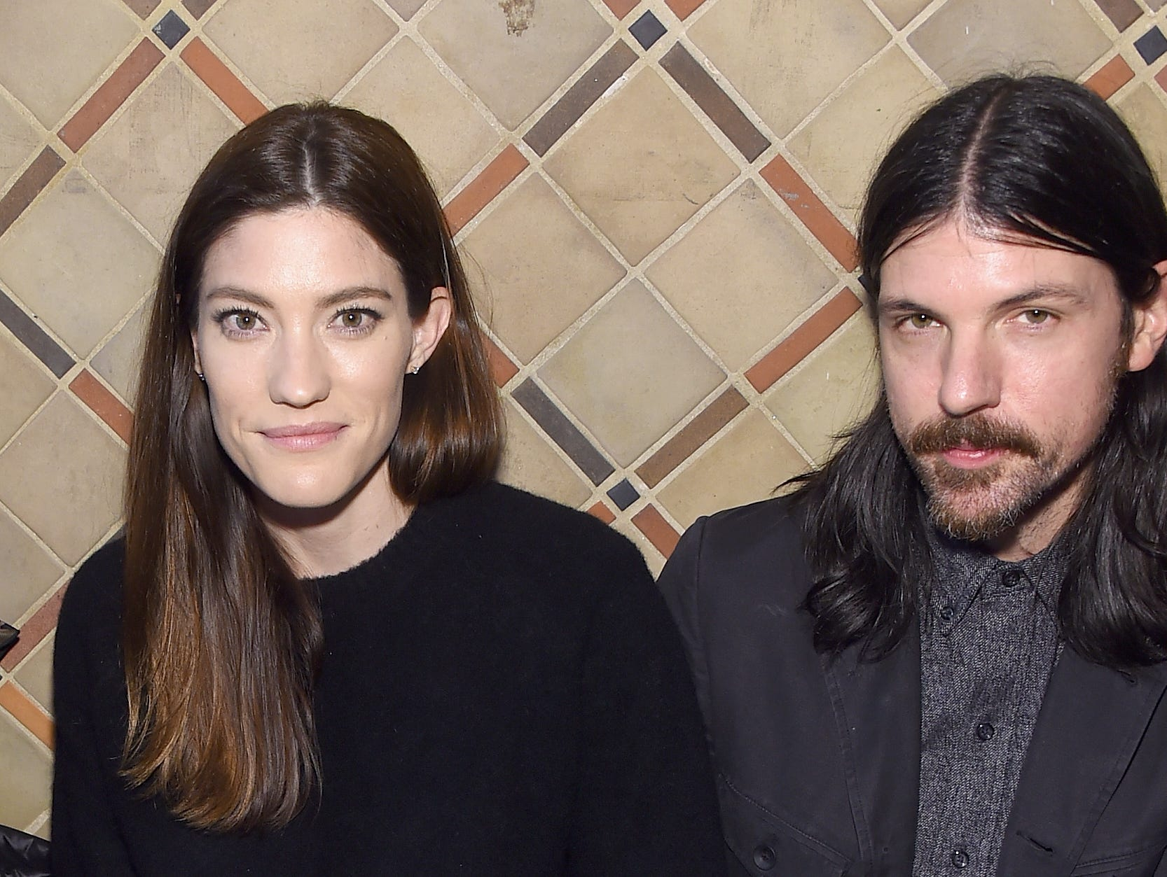 NEW YORK, NY - FEBRUARY 12:  Jennifer Carpenter(L) and Seth Avett attend the Cynthia Rowley front row during New York Fashion Week: The Shows on February 12, 2019 in New York City.  (Photo by Jamie McCarthy/Getty Images for NYFW: The Shows) ORG XMIT: 775290970 ORIG FILE ID: 1124445273