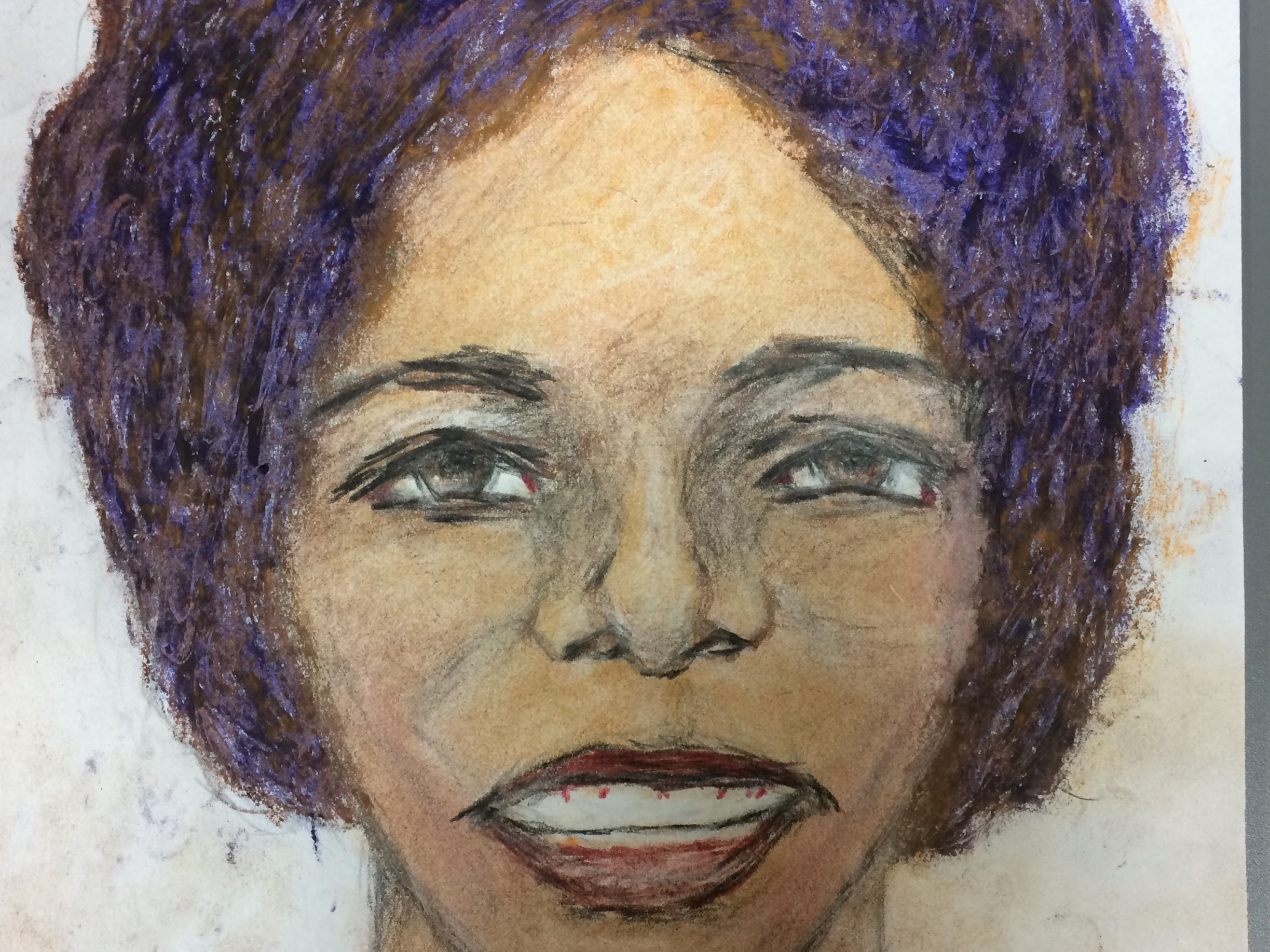 Serial killer Samuel Little drew this woman who he says he murdered at some point between 1976 and 1979 in Houston, Texas. Little told authorities she was a black female between 25 and 28 years old.