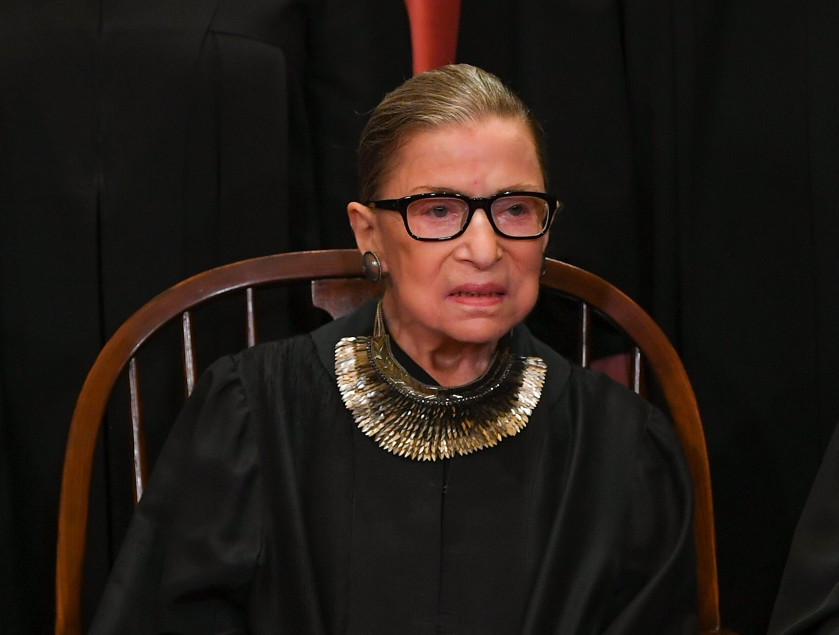 She's back: Justice Ruth Bader Ginsburg returns to Supreme Court following cancer surgery