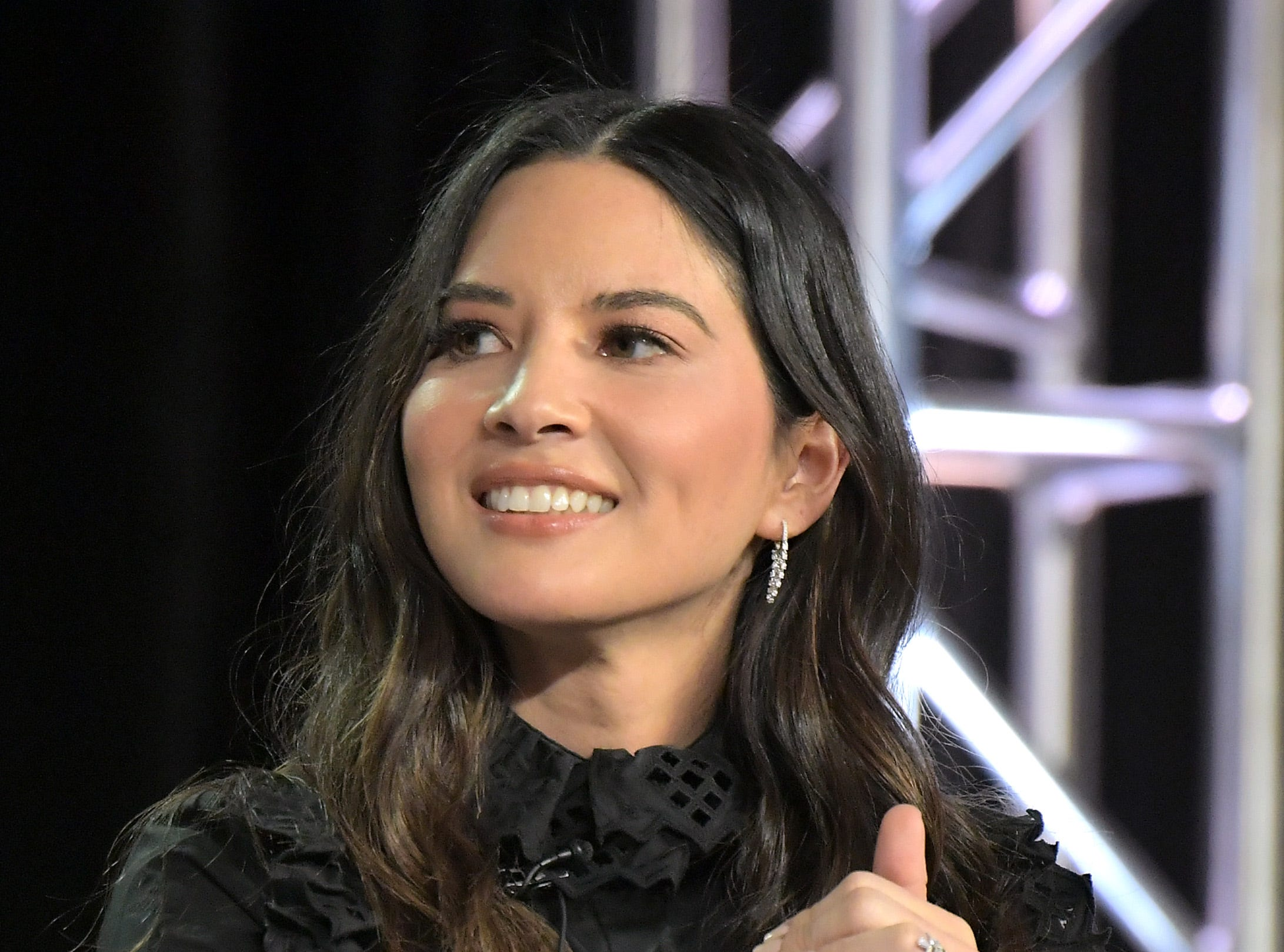 """Olivia Munn was on hand for Starz's """"The Rook"""" panel."""