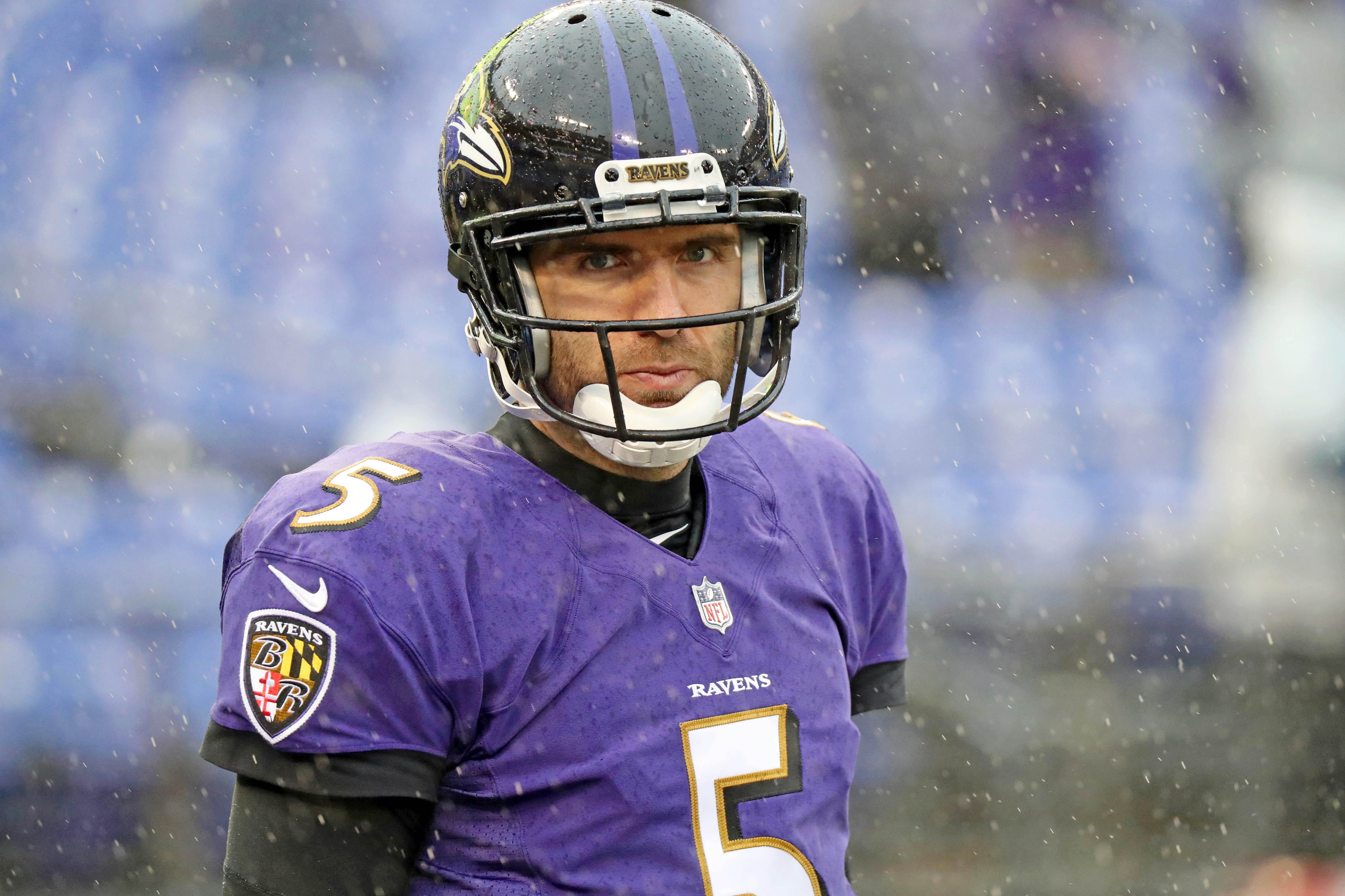 Broncos agree to trade for Joe Flacco in deal with Ravens