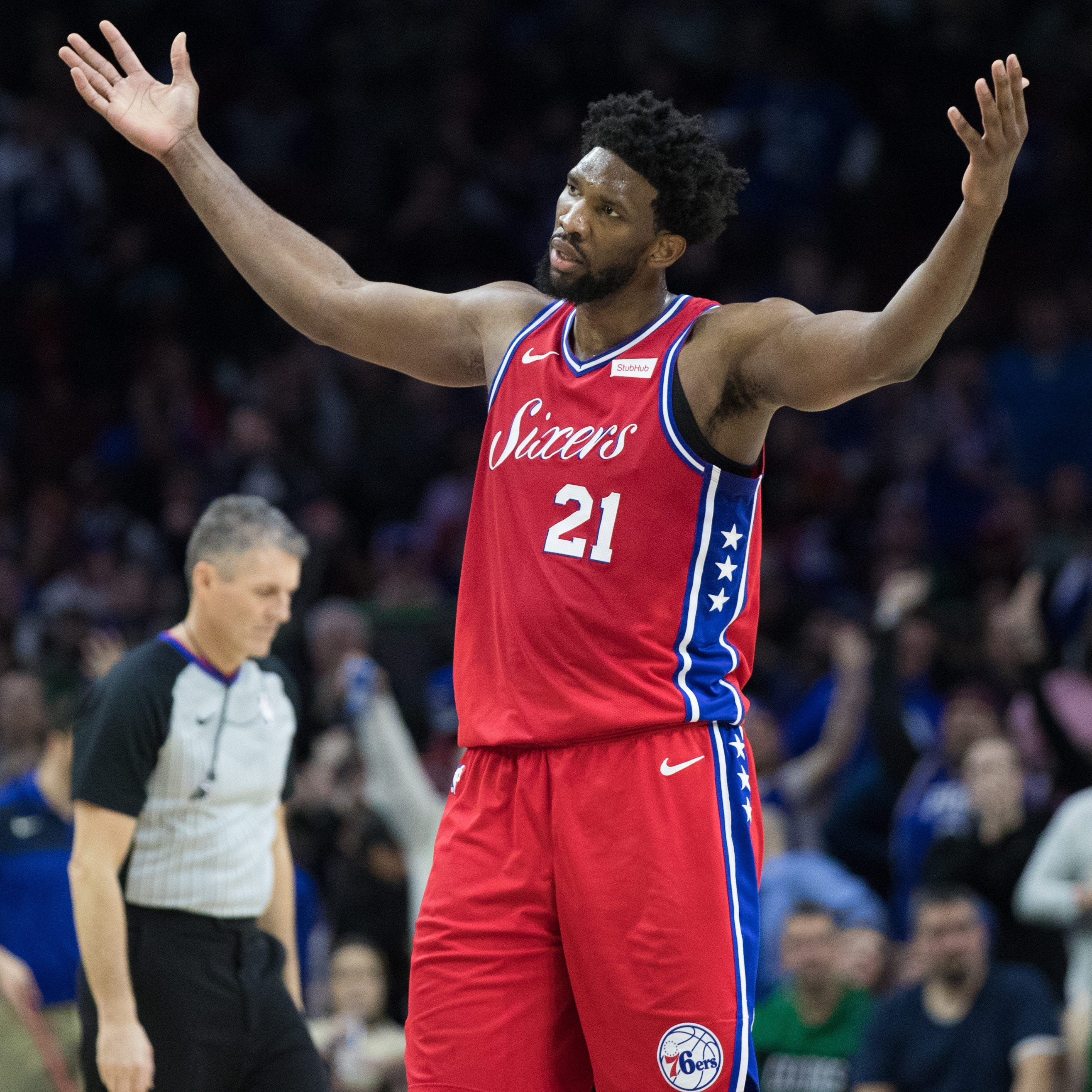 Joel Embiid after 76ers' loss to Celtics: 'Referees (expletive) sucked'