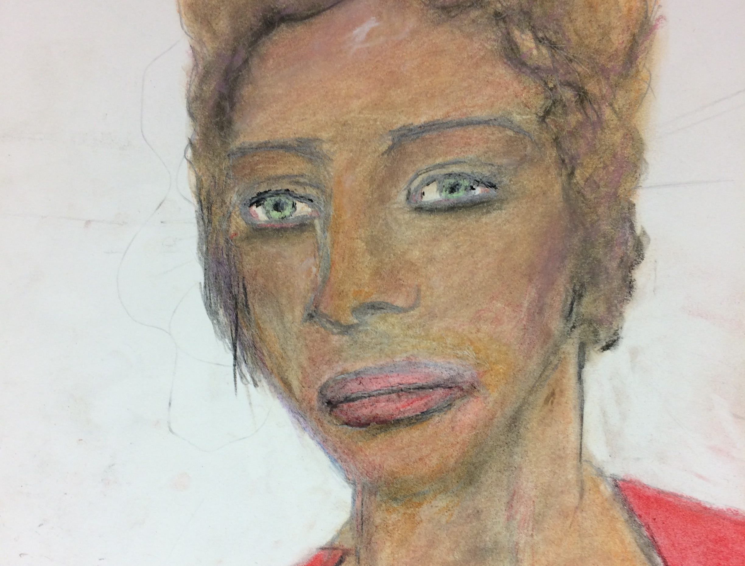 Serial killer Samuel Little drew this woman who he says he murdered in 1988 or 1996. Little told authorities she was a hispanic female who was in her 40s and possibly from in Phoenix, Arizona.