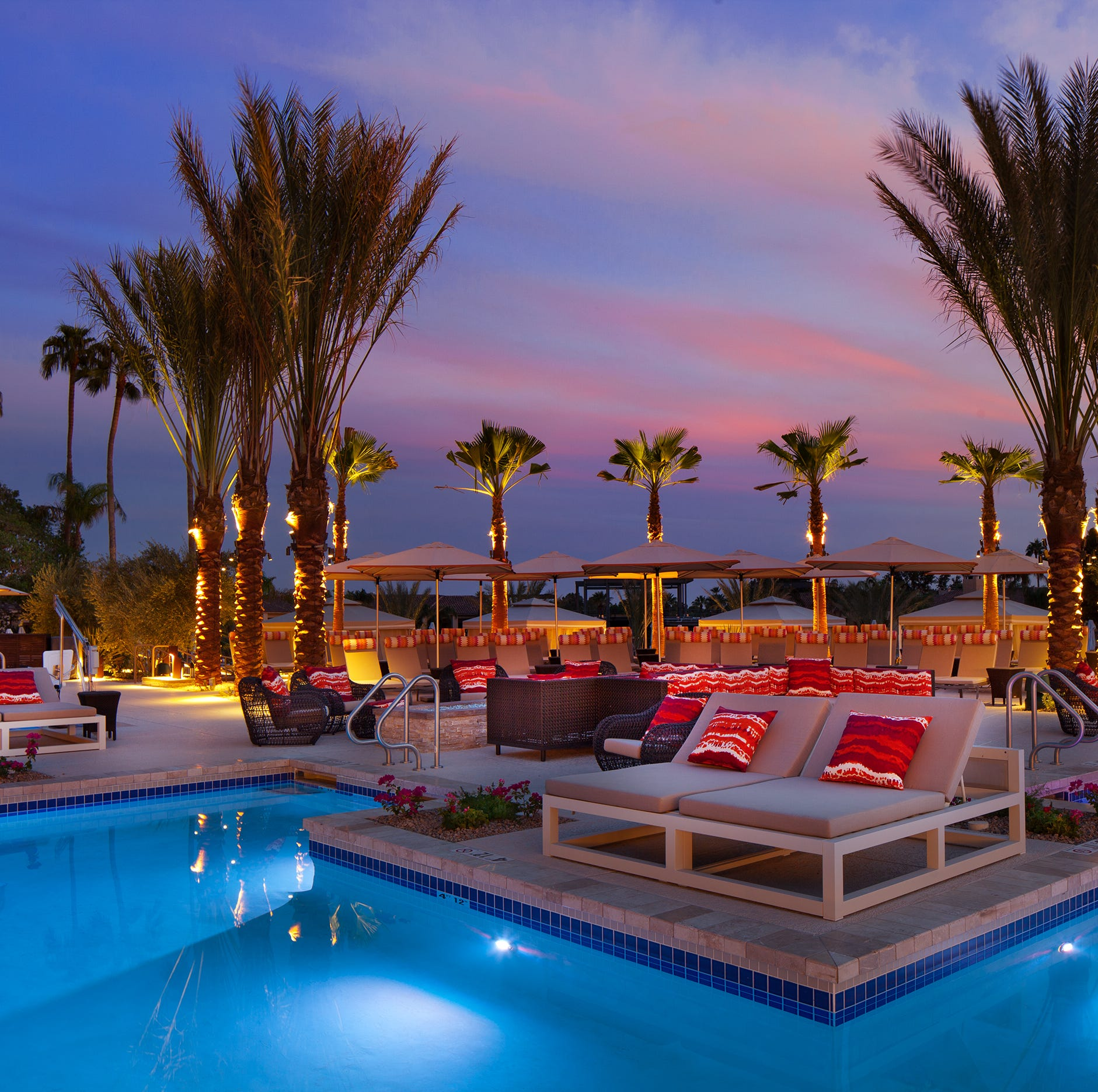 The Phoenician, a luxury resort in Phoenix, Arizona, has a new reserved seating section at one of its pools. Guests pay $25 to $50 per lounge chair depending on the day and season.