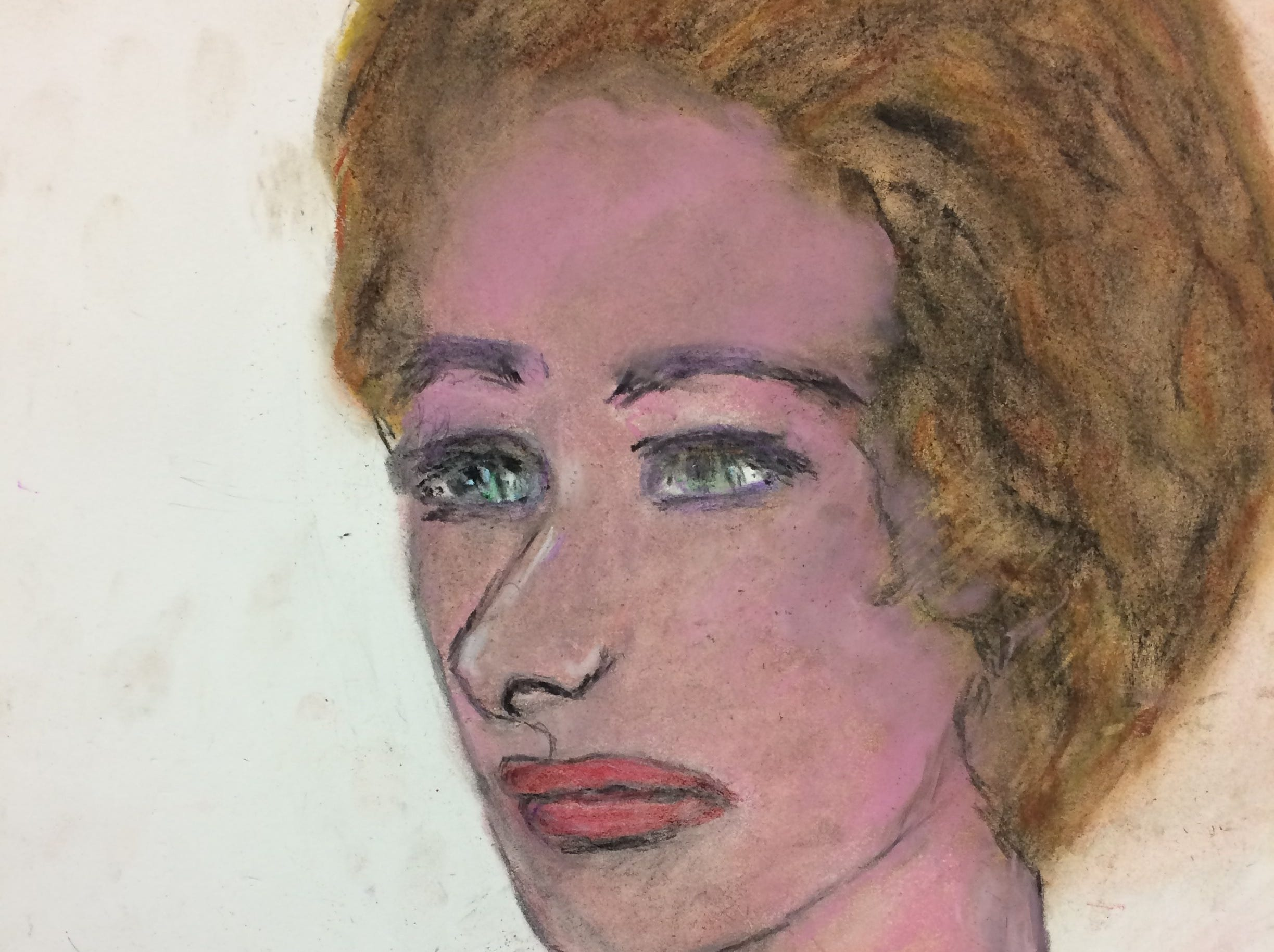 """Serial killer Samuel Little drew this woman who he says he murdered in 1997 in Phoenix, Arizona. Little told authorities she was a white female who was possibly known as """"Ann."""""""
