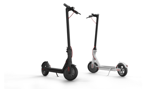 The Xiaomi electric scooters.