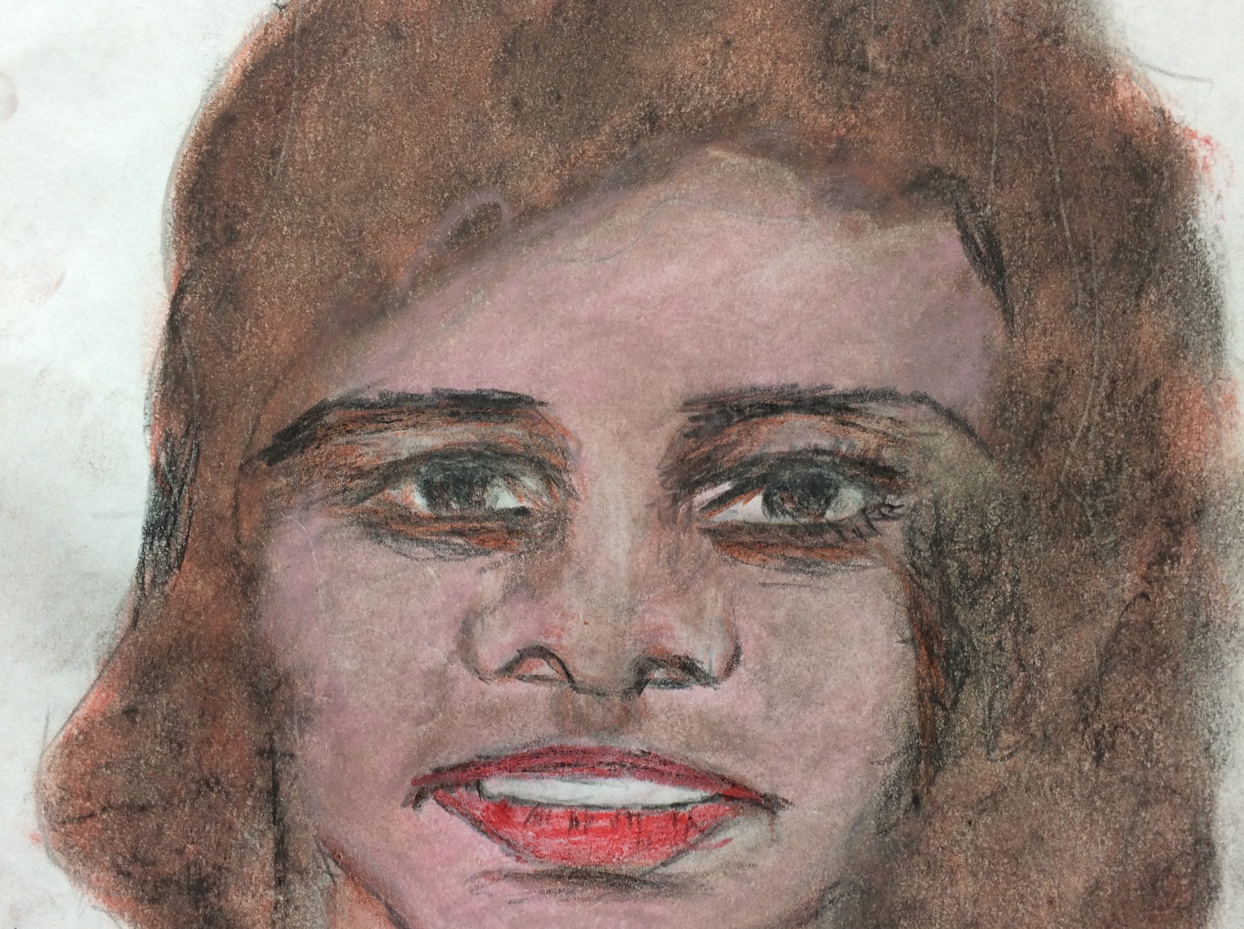Serial killer Samuel Little drew this woman who he says he murdered at some point between 1987 and the early 1990s. Little told authorities she was a 24-year-old black female